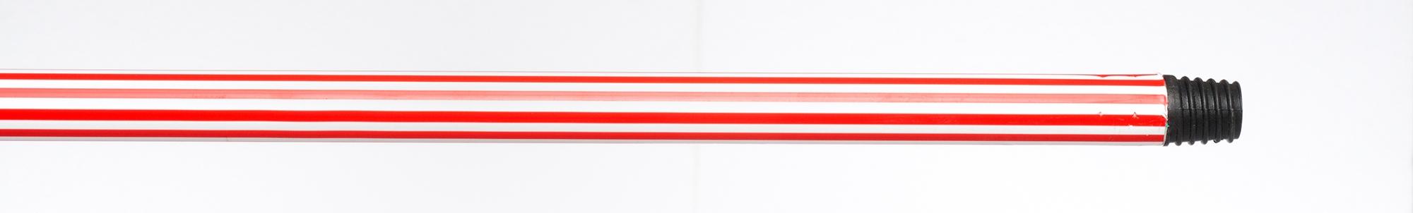 bicolour coated metal broom handles/двухцветный пластик